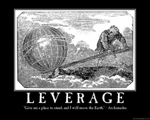 Are you Fully taking advantage of Leverage in your life and business?